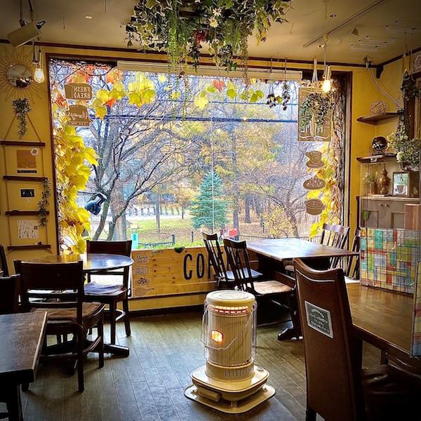 札幌スポット別・紅葉を楽しむカフェ