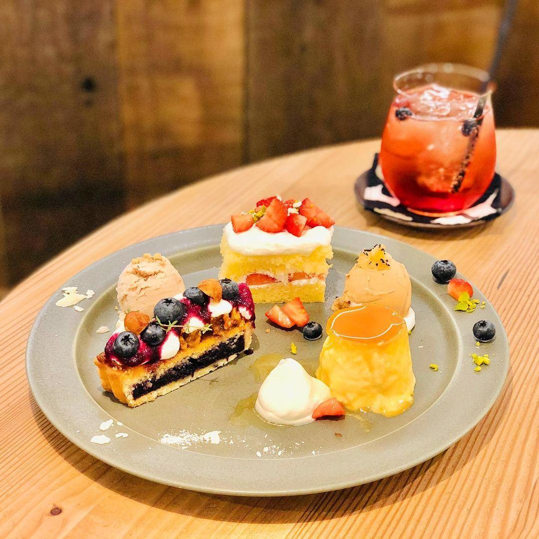 【札幌】種類いろいろ!スイーツ盛りだくさん♪「デザートプレート」が楽しめるカフェ